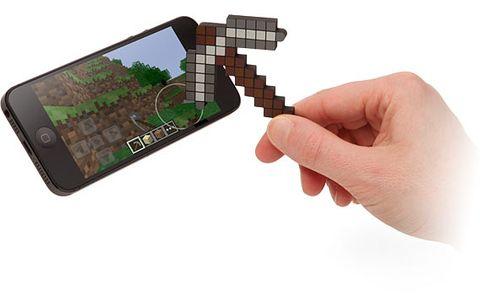 Stylus se bezvadně hodí na hraní mobilní verze Minecraft. Zdroj: reprofoto amazon.com