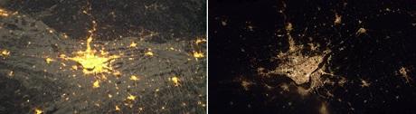 FOTO: Montreal v noci