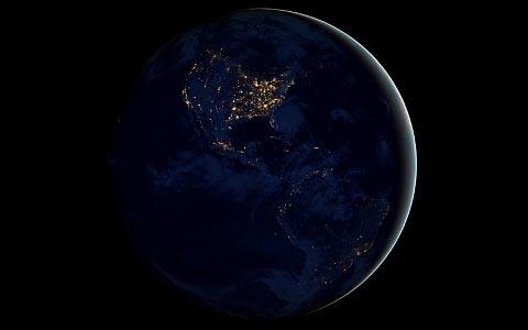 FOTO: Noční Země