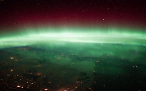 FOTO: Polární záře