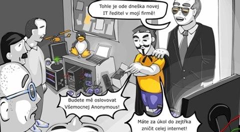 OBR: Ronaldův svět 71: Anonymous (perex)
