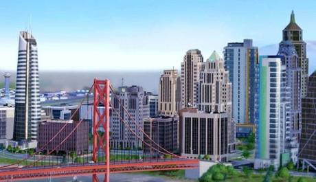 Místo virtuálního města čekaly na hráče nefunčkní servery. Zdroj: Oficiální stránky hry