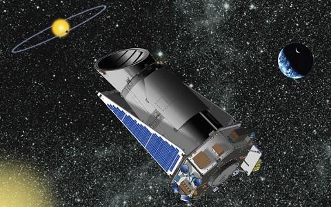 FOTO: Keplerův teleskop