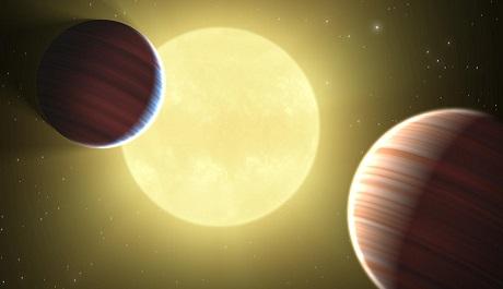 FOTO: Umělecké ztvárnění planety Kepler 9