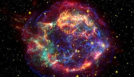 FOTO: Zbytky supernovy
