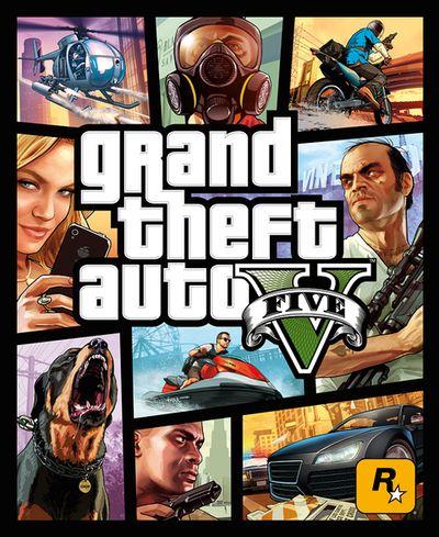 FOTO: Grand Theft Auto V oficiální obal