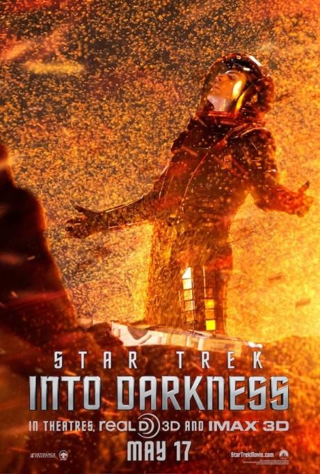 Je vidět, že Spock opravdu pochází z hodně horké planety, podívejte, jak si to užívá. Zdroj: Paramount Pictures