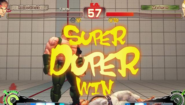 Super duper vítězství je opravdu znamenitá záležitost. Zdroj: oficiální stránky Capcom