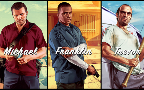 Grand Theft Auto V poprvé umožní hru za různé postavy. Zdroj: oficiální stránky hry