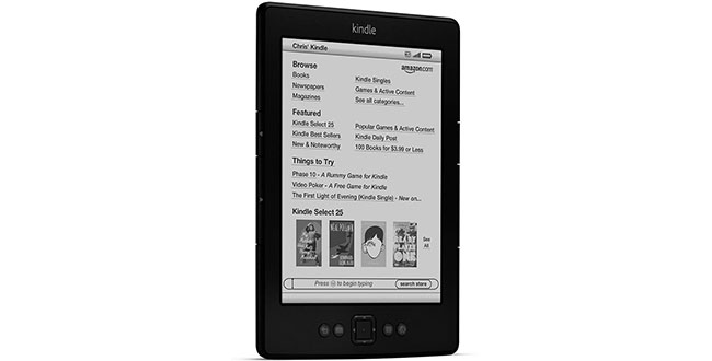 FOTO: Amazon Kindle 5