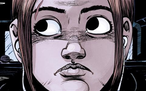 Předlohou pro postavu Ellie byla známá herečka Ellen Page. Zdroj: oficiální stránky Dark Horse Comics