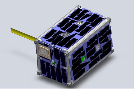 OBR: Ilustrace modulu Smallsat