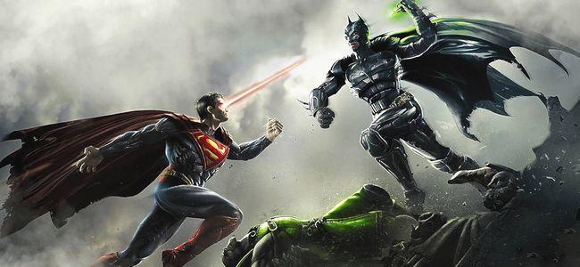 Nejznámějšími postavami z širokého inventáře komiksových hrdinů z univerza DC jsou bezpochyby Superman a Batman. Zdroj: vydavatel hry