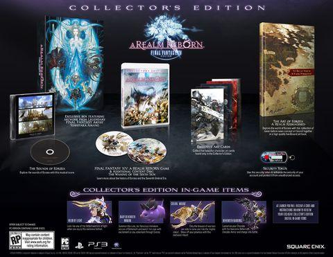 OBR.: Final Fantasy 14 - Collector's edition