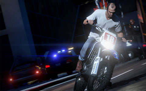 GTA V vychází 17. září pro PS3 a Xbox 360. Zdroj: oficiální stránky hry