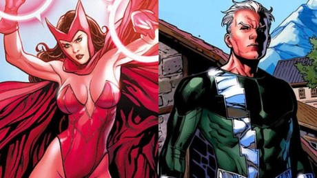 Quicksilver a Scarlet Witch