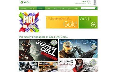 OBR.: Xbox Live