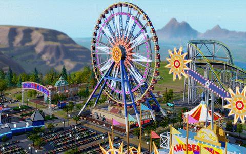 FOTO: Sim City - Zábavný park priorita