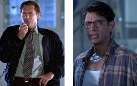 Bill Pullman a Jeff Goldblum