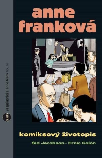 obalka Ernie Colon: Anne Frankova - Komiksovy zivotopis