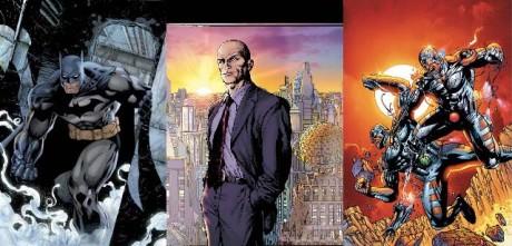 Barman, Lex Luthor, Cyborg