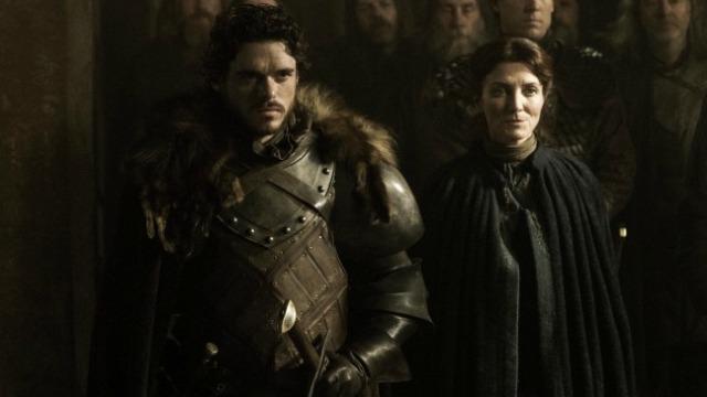 Robb a Catelyn