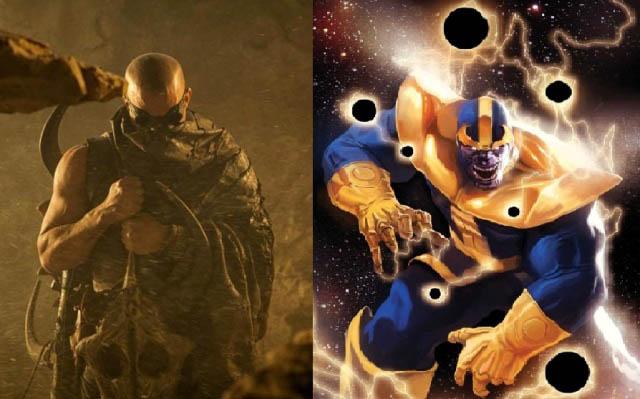 Vin Diesel jako Thanos
