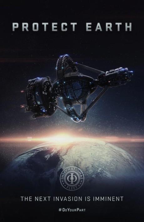 Chtěli byste trénovat na takovéto vesmírné stanici? Zdroj: Lionsgate