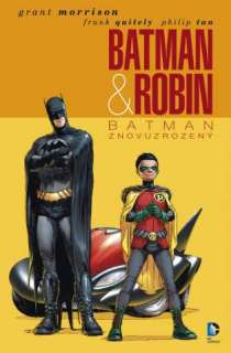 obalka Frank Quitely: Batman a Robin