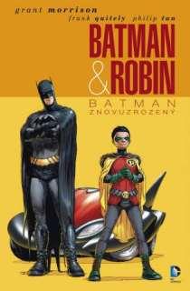 obalka Frank Quitely: Batman a Robin