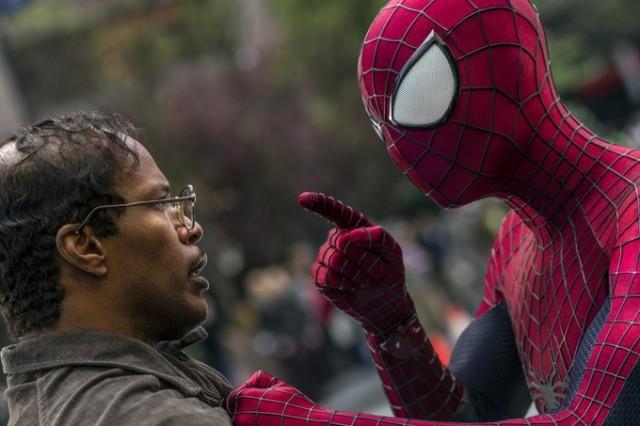 Jamie Foxx a Spider-Man