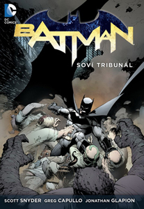obalka scott snyder:batman:sovi tribunal