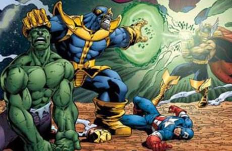 Thanos vs. Avengers