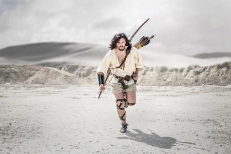 Fotka z připravovaného filmu o Thorgalovi. Nepřipadá vám, že je to pokračování Prince z Persie? Foto: Bartosz Stępień