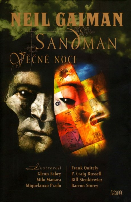 obalka Dave McKean: Sandman - Vecne noci