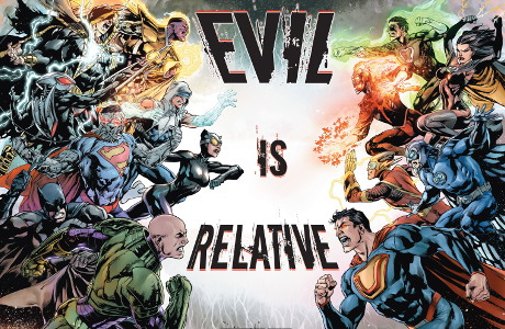 Zkloubení tří komiksů se stane něco unikátního. Zemřou všichni superhrdinové? Zdroj: DC Comics