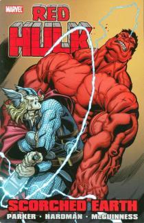 obalka Gabriel Hardman: Red Hulk: Scorched Earth