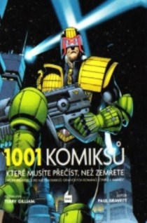 obalka: Paul Gravett: 1001 komiksu