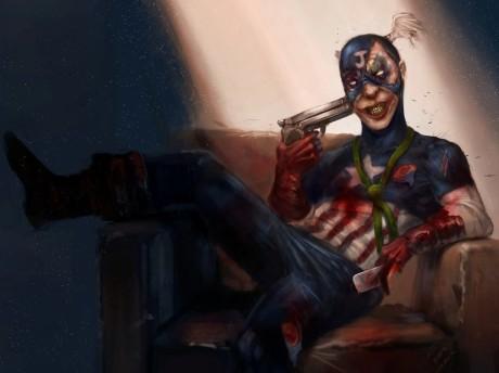 Captain Joker by asi nebyl tím nejlepším a mentálně nejstálejším hrdinou. Zdroj: perezfrankie.tumblr.com