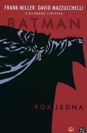 obalka David Mazzucchelli: Batman - Rok jedna