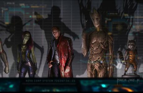 Jeden z nejnovějších konceptů týmu Guardian of the galaxy.