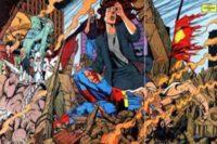 uvodni smrt v komiksu