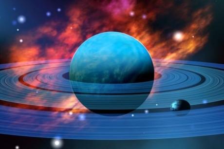 Planetu Neptun ve skutečnosti obíhá o jedno těleso více, než lidstvo 167 let tušilo.  Zdroj: nasa.org