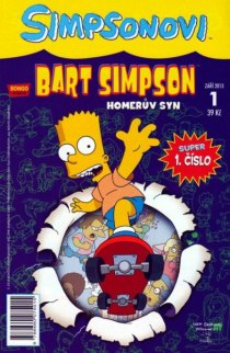 obalka Matt Groening: Bart Simpson #1 - Homeruv syn