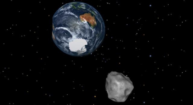 FOTO: Asteroid a Země