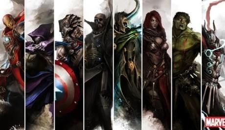 Který fantasy Avanger se vám líbí nejvíce? Zdroj: thedurrrrian.deviantart.com/