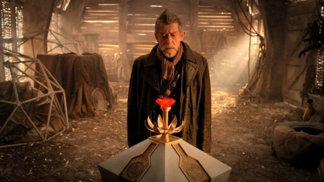 Copak se všechno asi odehraje ve výroční epizodě a kolik Doctorů se nakonec objeví? Zdroj: BBC