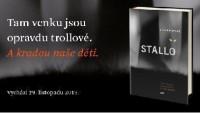 FOTO: Titulní obálka švédského fantasy thrilleru Stallo.