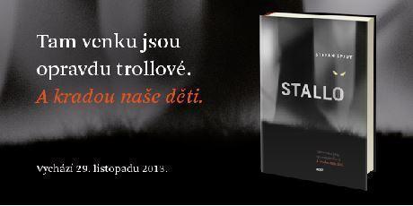 Titulní obálka švédského fantasy thrilleru Stallo.