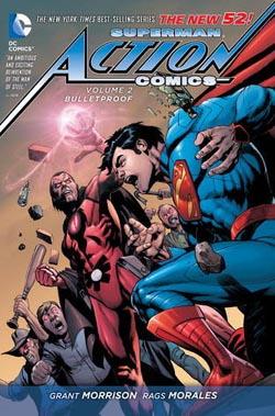 grant morrison: superman: neprustrelny obalka